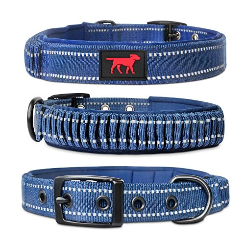 Tuff Pupper Heavy Duty Dog Collar with Handle