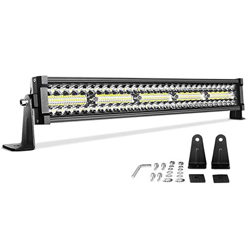 DWVO LED Light Bar 22 inch 300W Straight Triple Row 20000LM