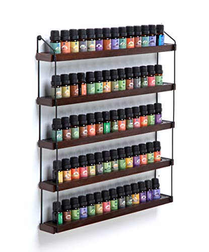 JackCubeDesign Wall Mount Essential Oils Display