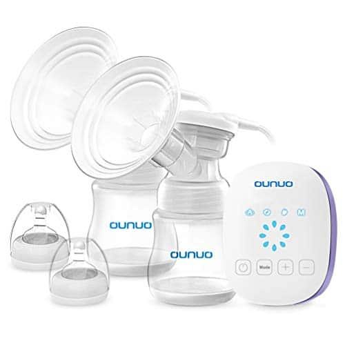 OUNUO Double Breast Pumps Breast Feeding Kit