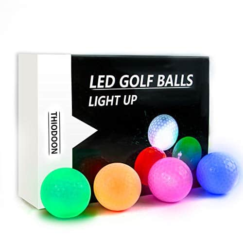 GOANDO Glow Golf Balls Night Sports Light up LED Golf Ball
