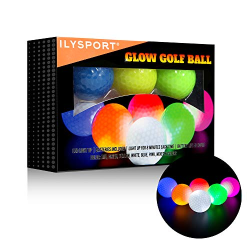 ILYSPORT Glow Golf Balls